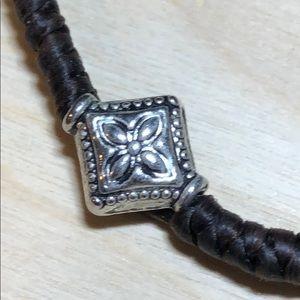 Jewelry - Pair Balinese friendship brackets w sterling beads